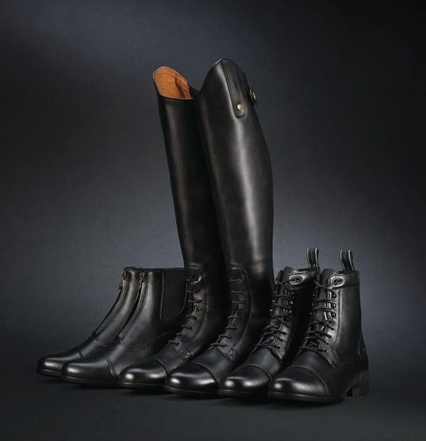 Illustrasjonsfotot støvler