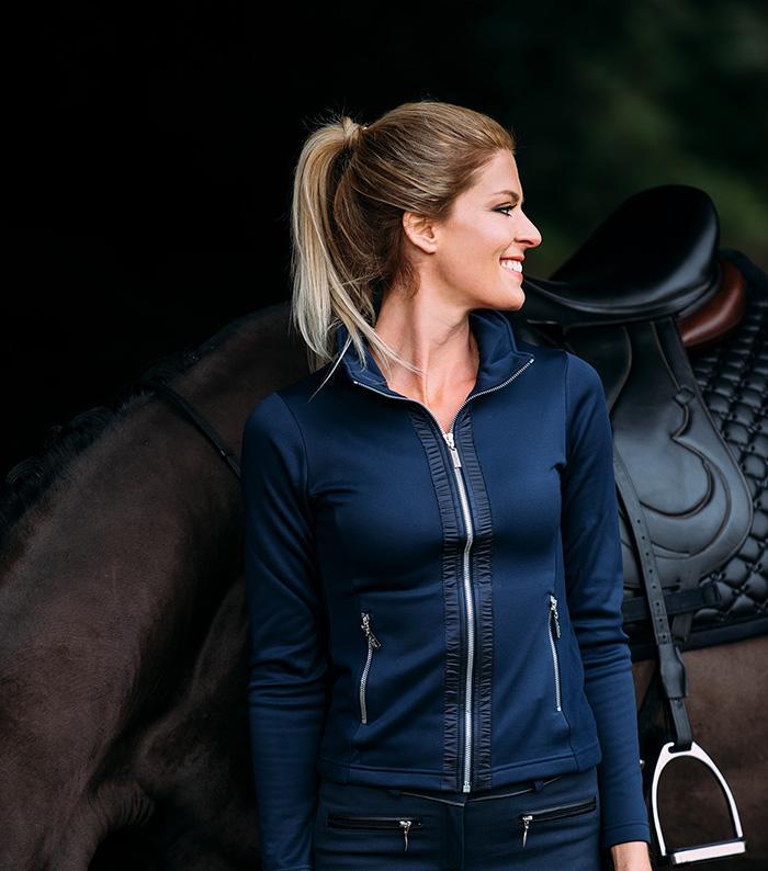 Equestrian Stockholm Fleece jakke Ryttern